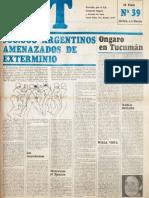 CGT de los Argentinos Nº 39