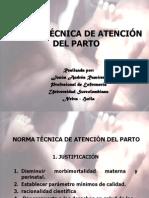 NORMA TÉCNICA DE ATENCIÓN DEL PARTO