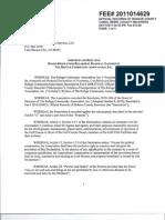Resolution 2010-004 Road Easement