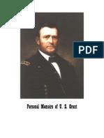 Personal Memoirs of US Grant