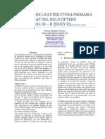 ANÁLISIS DE LA ESTRUCTURA PRIMARIA CAP DEL HELICÓPTERO BELL UH-IH-II (HUEY II)
