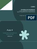 Semiótica Da Arquitetura - EC - Aula 4 [28!10!2020]