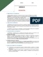 UNIDAD III-ESTADÍSTICA- INICIAL I-2021-I