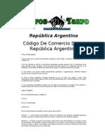 Republica Argentina - Codigo De Comercio