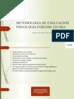 METODOLOGIA DE EVAL.PS FORENSES NNA