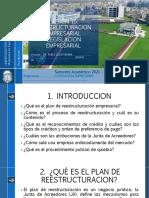 SESION 16 REESTRUCTURACION EMPRESARIAL LEGISLACION EMPRESARIAL UPLA 2021 1