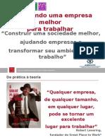 Apresentação MELHORES EMPRESAS TRABALHAR