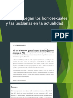 Que Papel Juegan Los Homosexuales y Las Lesbianas en La Actualidad