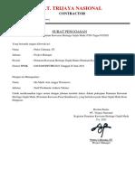 Surat Penugasan Admin Teknik (Gus De)