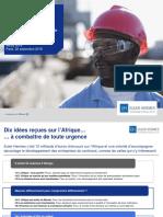 Presentation 10 Idees Recues Afrique