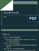 u16 Social Psych 2011