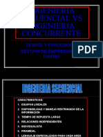 INGENIERIA SECUENCIAL VS INGENIERIA CONCURRENTE