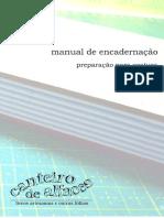 manual de encadernação - preparação do livro para costura