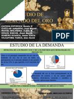 ESTUDIO DEL MERCADO DEL ORO