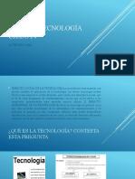 ÁREA DE TECNOLOGÍA CICLO IV