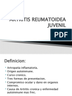 ARTRITIS REUMATOIDEA JUVENIL