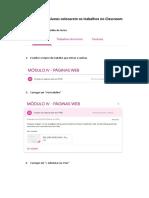 tutorial upload documentos classroom