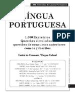 Folha Dirigida - Concursos - 1000 Testes De Português