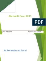 Excel 2013 - fórmulas
