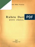 Meza Castro - Rubén D. poeta clásico