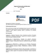 Programa Estrategia Promo Mercados 2011 Print