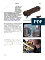 Paracord Handle Wrap Procedure