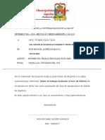 AÑO DE LA UNIVERSALIZACION DE LA SALUD