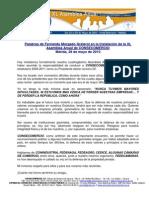 DISCURSO DE FERNANDO MORGADO ( XL ASAMBLEA ANUAL 2010)