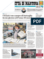 ??.la Gazzetta di Mantova 25 Marzo 2020