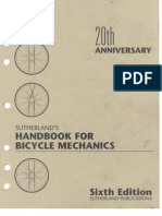 Handbook for Bicycle Mechanics by Howard Sutherland [6th Edition 1995]