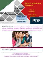 Metodos y Estrategias de Aprendizaje