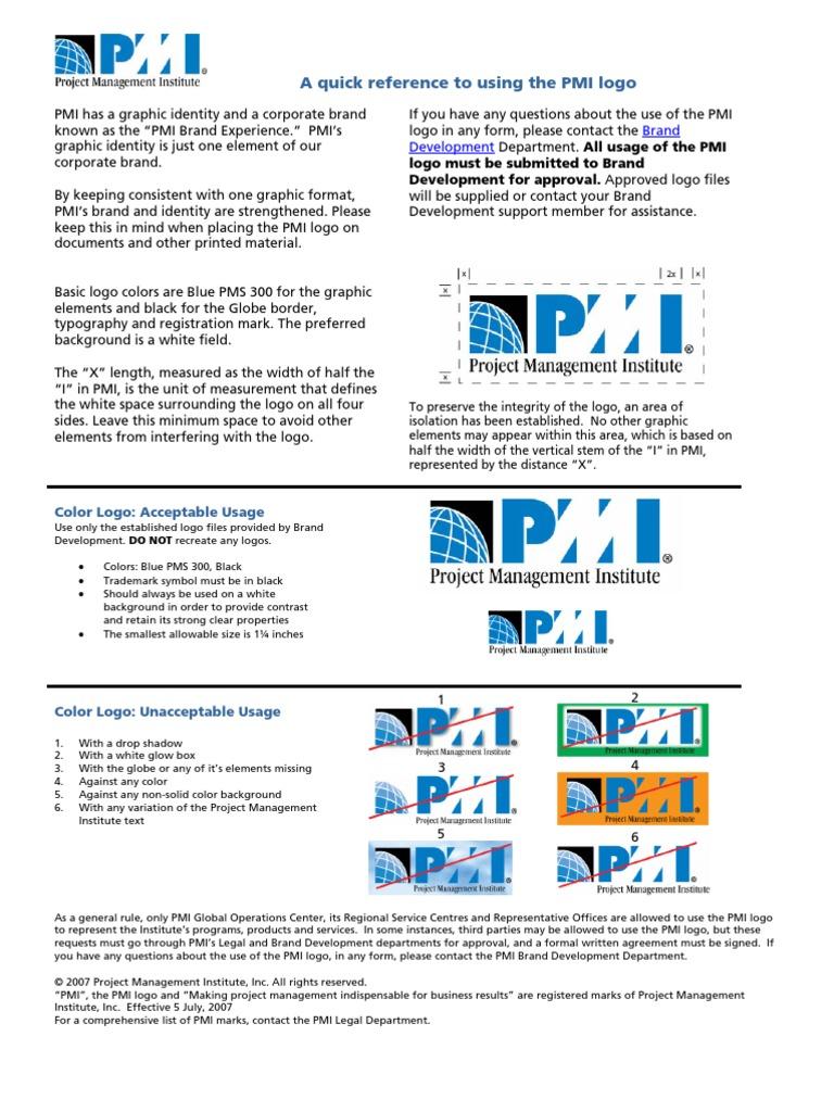 Pmi logo guidelines quick ref vendor final logos brand buycottarizona