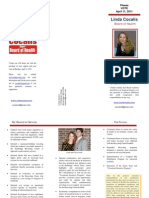 Linda Cocalis Brochure