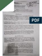 Resolución DA-AN-DIM-2018-003 de Alcalde de Baruta cambiando zonificación
