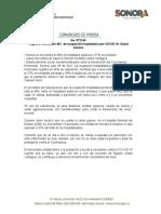 08-07-21 Registra Hermosillo 46% en ocupación hospitalaria por COVID-19