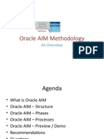 oracle_aim_methodology