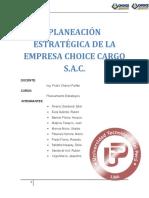 PLANEAMIENTO ESTRATEGICO Choice Cargo