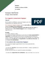 Les rapports logiques cours pdf