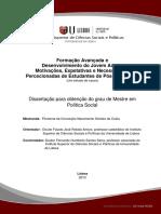 Dissertação de Mestrado - Política Social - Filomena Costa