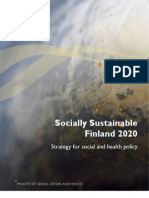 Socially Sustainable Finland 2020 - Strategy for social and health policy