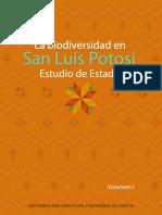 La Biodiversidad en San Luis Potosí Estudio de Estado Vol 1