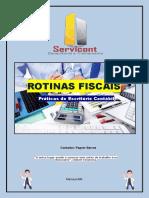 APOSTILA COMPLETA - CURSO ROTINAS FISCAIS