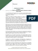 29-06-21 Llaman SSP Sonora e ISM a no callar, buscar atención y denunciar la violencia contra la mujer