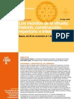 Los Mundos de La Vihuela Historia Constr