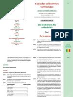 Code Des Collectivites Territoriales