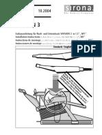 Sirona Sivision 3 Installation Manual