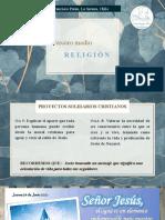 3 Religión, clase 24 de junio 2021