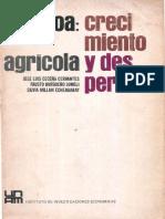 Cecena Cervantes Jose Luis Et Al Sinaloa Crecimiento Agricola y Desperdicio PDF