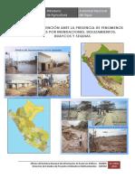 Plan de Prevencion Ante La Presencia de Fenomenos Naturales Por Inundaciones, Deslizamientos, Huaycos y Sequias