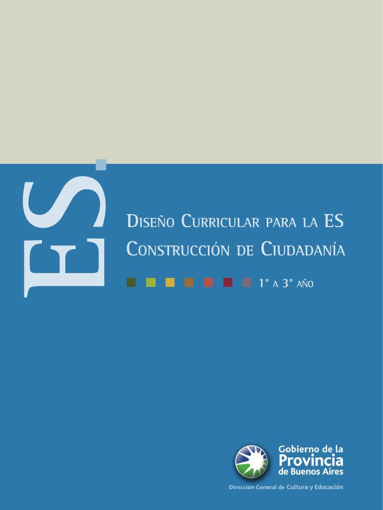 Secundaria Construccion Ciudadania1º a 3º